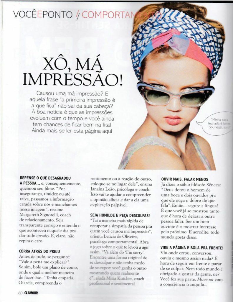 Glamour Miria Kutcher